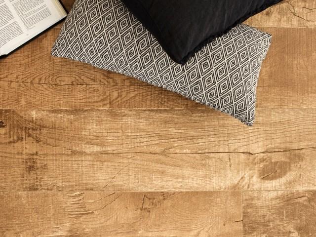 Sol PVC Exclusive 280T Select, coloris Austria oak middle natural, Tarkett, prix : à partir de 10 €/m2