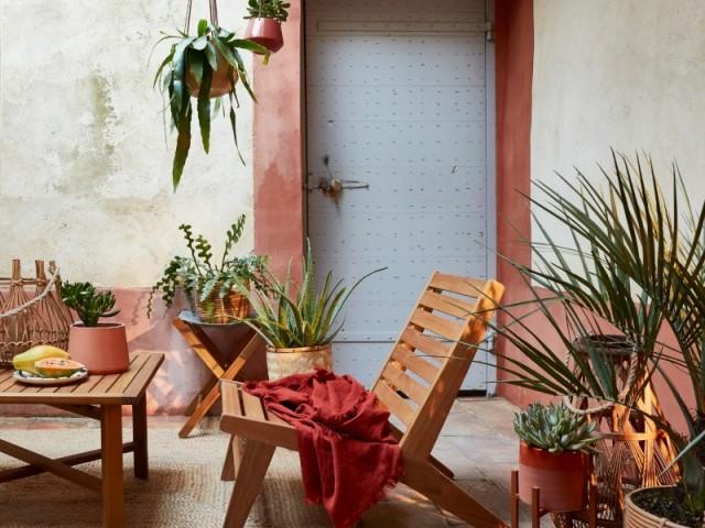 Une terrasse façon hacienda mexicaine