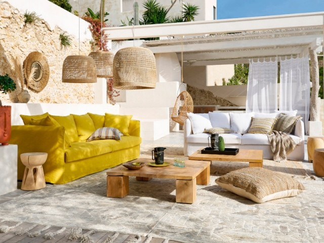 Une terrasse inspirée de l'Espagne
