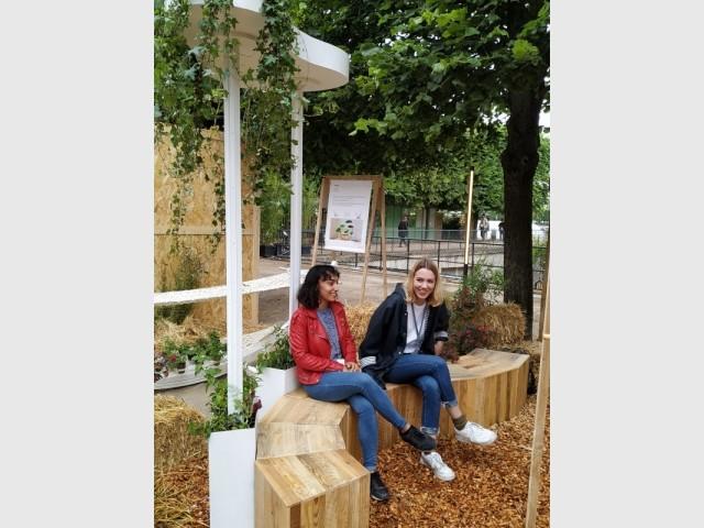 S Garden, les assises modulables pour un jardin urbain confortable