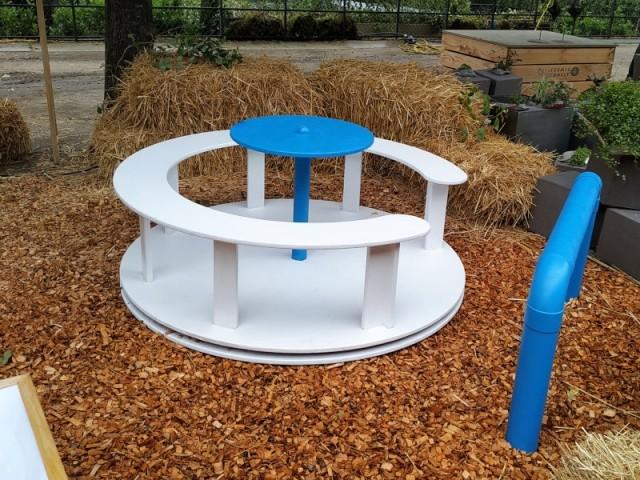 Jeu d'eau, une structure pour sensibiliser les enfants