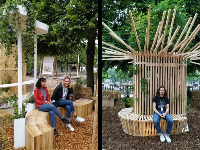 Le jardin urbain de demain vu par les étudiants en paysagisme, design et architecture