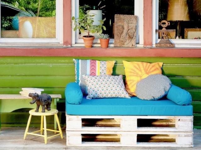 10 Canapes En Palettes Pour Mon Jardin
