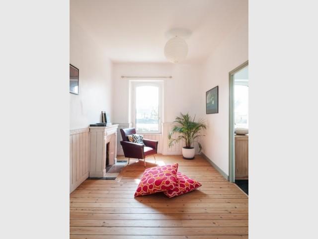 Une mezzanine et deux chambres en plus à l'étage