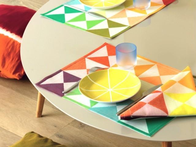 Linge de maison, set origami