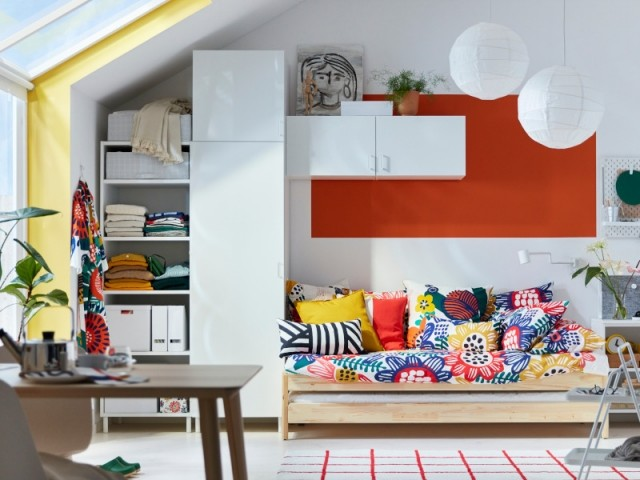 Utiliser les espaces les plus étroits pour ranger ses vêtements