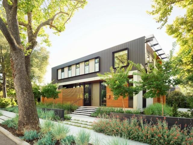 Un mur de végétation pour isoler la maison