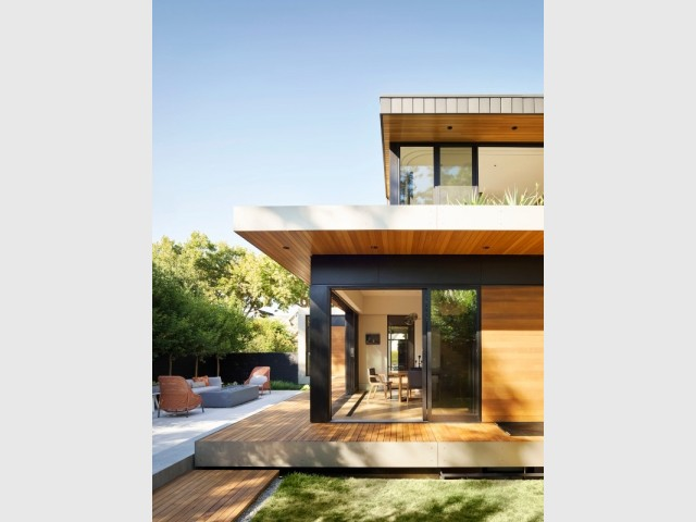 Construction d'une maison de ville sur 3 niveaux à Palo Alto (Californie)