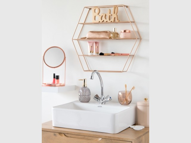 Un meuble de rangement dans votre salle de bains pour 22,99 €