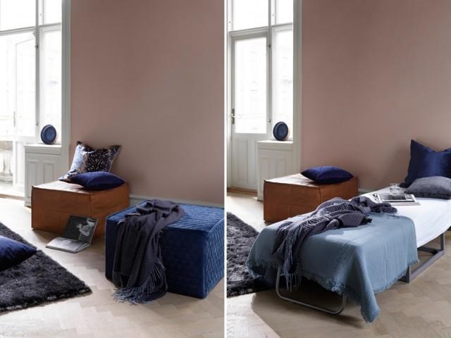 Pouf Xtra avec fonction lit, BoConcept, prix : 629 €