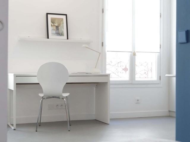Un petit coin bureau dans le salon