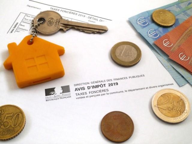 Avis d'imposition pour la taxe foncière