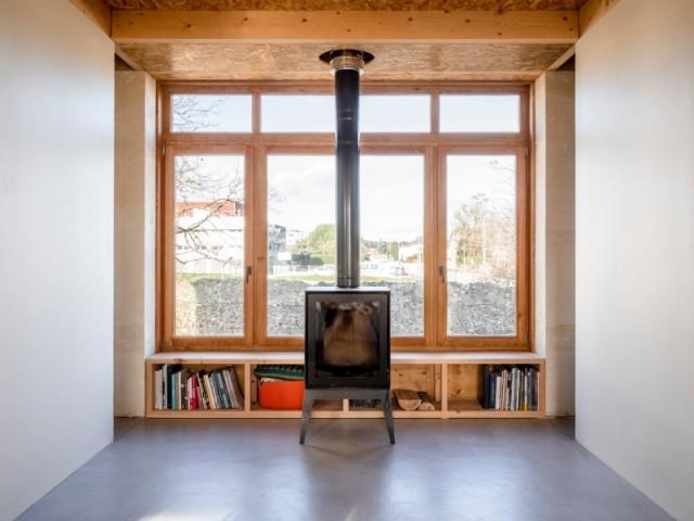 Une bibliothèque prête pour l'hiver