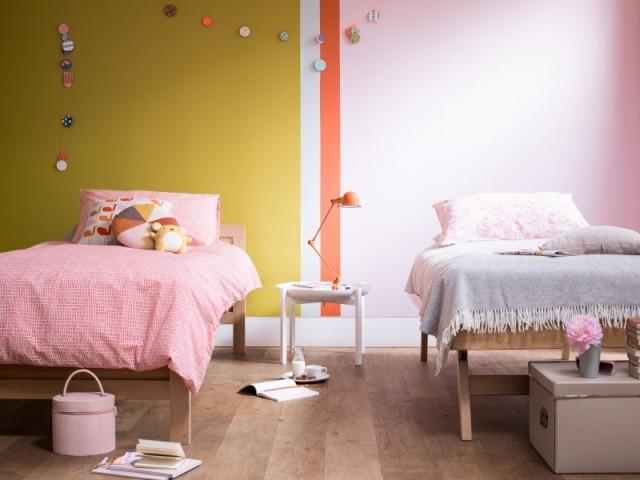 Utiliser la couleur pour délimiter une chambre pour deux