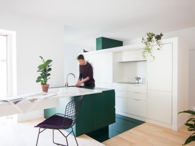 Cet appartement change de visage grâce à une nouvelle cuisine