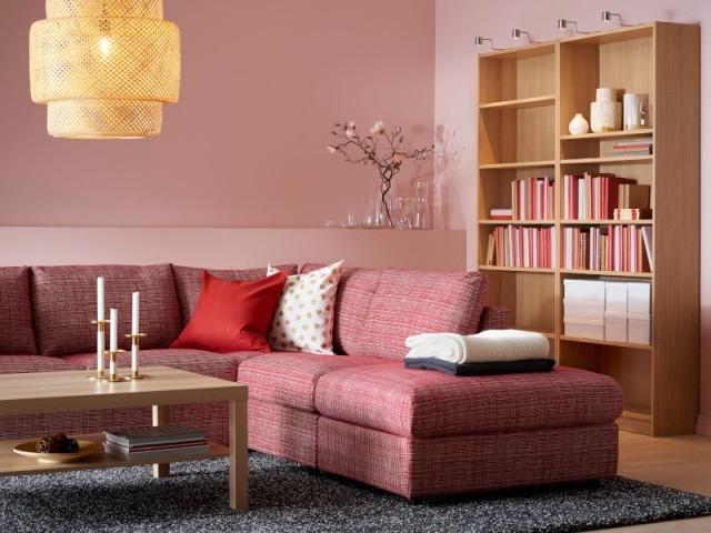 Canapé d'angle 4 places sans accoudoir Vimle, 1.119 €