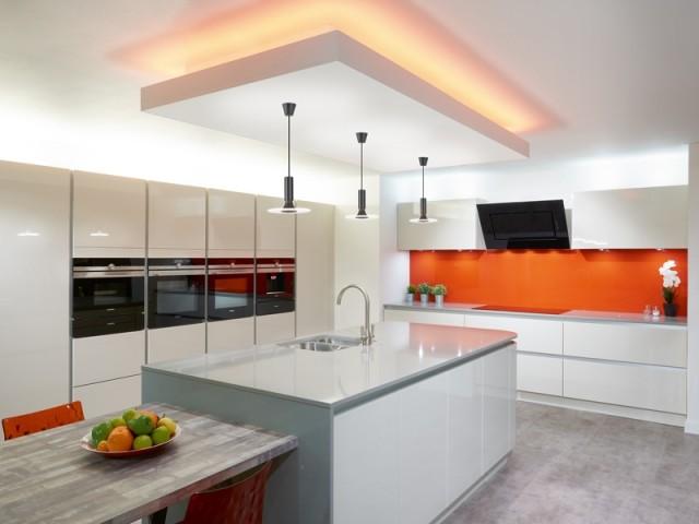 Une cuisine presque futuriste