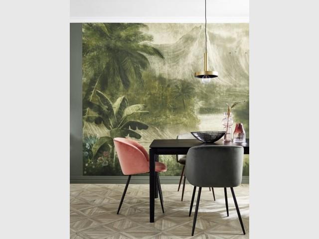 Papier peint panoramique Nathan Coordonné, Saint Maclou, prix : 62,92 €/m2