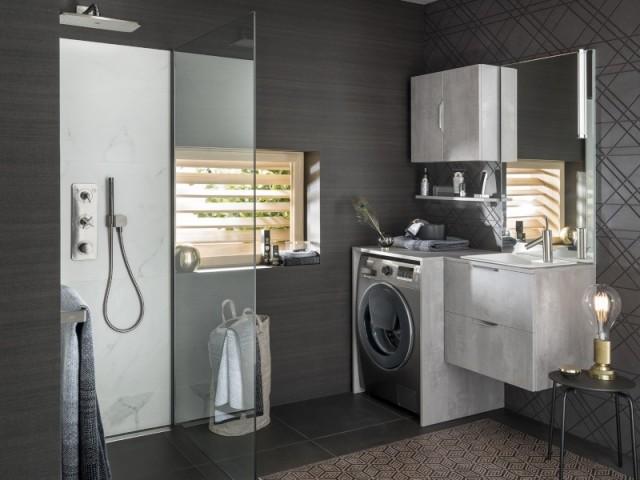 Meubles de salle de bains Archi béton foncé, à partir de 2.070 €