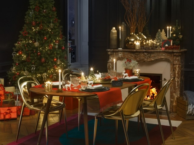 Une table de fêtes pour un Noël qui fait rêver