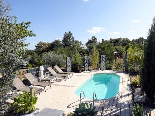 Trophée d'argent 2019 catégorie piscine installée petit budget, moins de 20.000 €