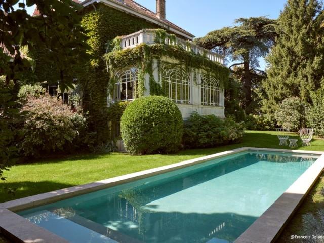 Trophée d'or 2019 ex-aequo catégorie piscine familiale de forme angulaire de moins de 40 m2