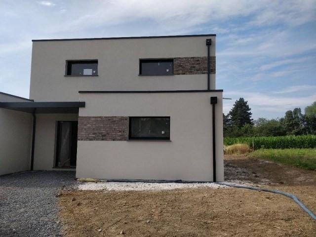 Maison neuve de moyenne gamme dans les environs de Lille