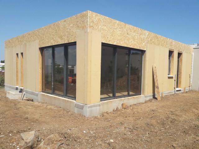 Une toiture terrasse pour une maison contemporaine