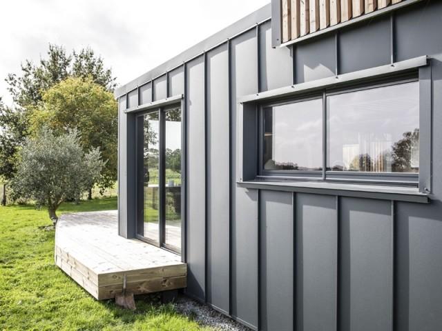 Une maison container bien isolée