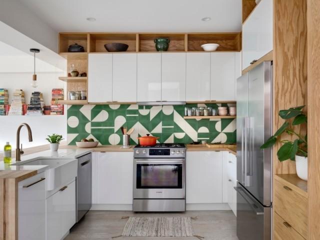 Une cuisine ouverte accessible dès l'entrée