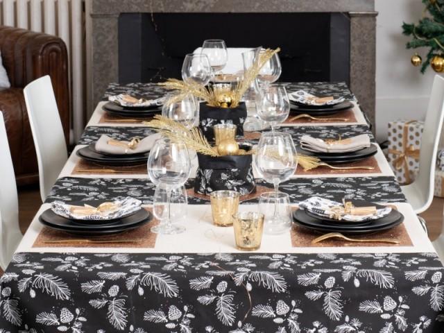 Des paniers en tissus pour centre de table