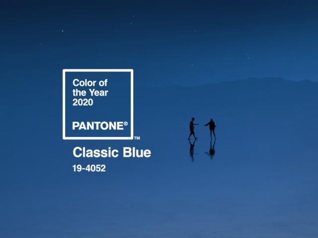 Classic Blue, couleur de l'année 2020 selon Pantone, enfin dévoilée