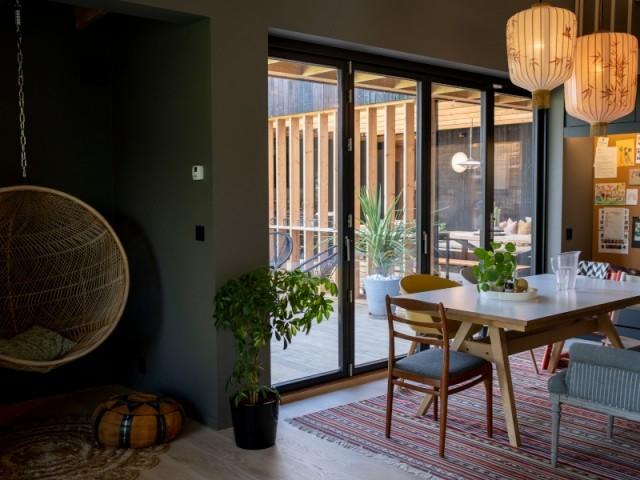 La nature omniprésente à l'intérieur de la maison