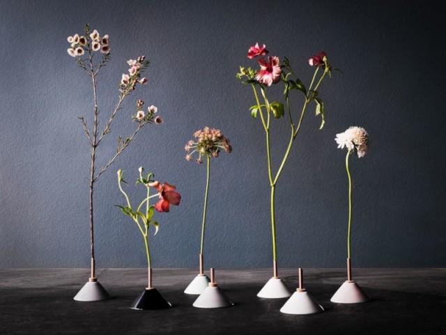 Vase blanc en porcelaine Consilium, en vente chez The Cool Republic : 12 €