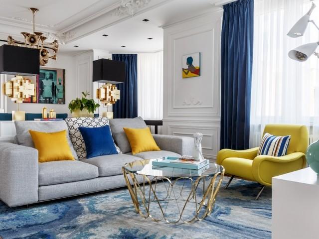 Un luxueux appartement rénové dans un esprit contemporain
