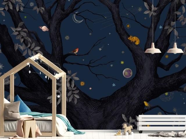 Papier peint : 10 motifs mignons pour une chambre d'enfant