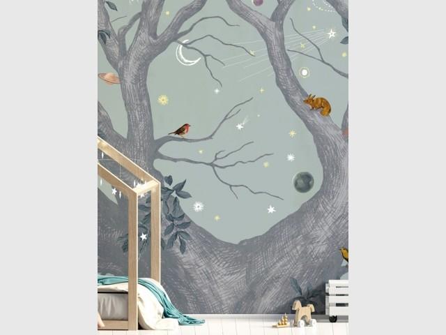 Papier peint panoramique Abracadabra, Isidore Leroy : prix : à partir de 299 €