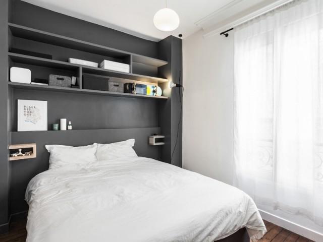 Une chambre à coucher entièrement repensée