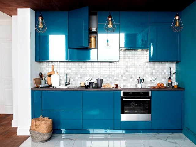 Une cuisine Classic Blue