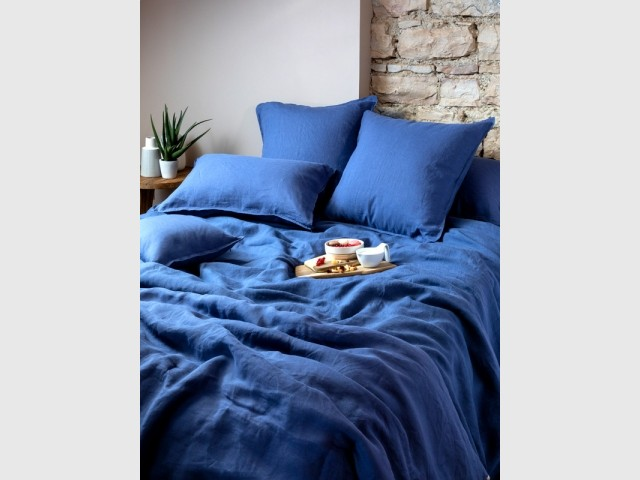 Du linge de lit Classic Blue