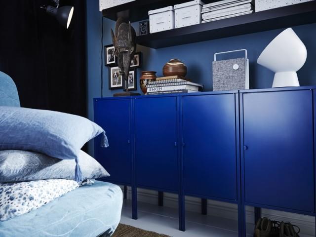 Un buffet Classic Blue