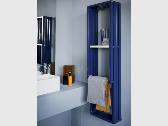 Un sèche-serviette Classic Blue