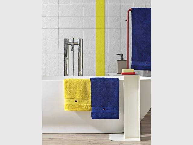 Du linge de toilette Classic Blue