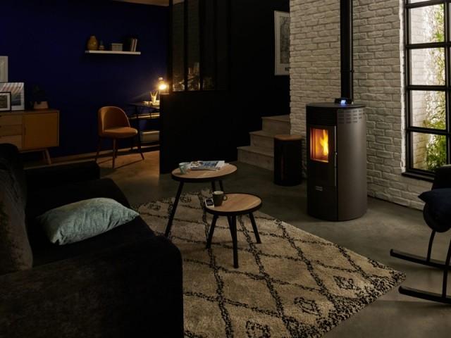 Un feu de cheminée pour réchauffer l'atmosphère