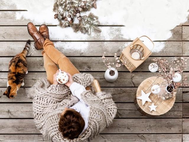 7 idées pour réchauffer sa terrasse en hiver