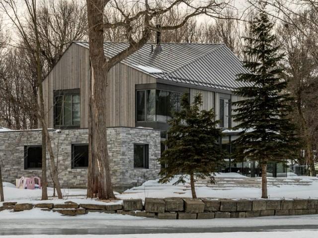 Une maison en harmonie avec l'environnement