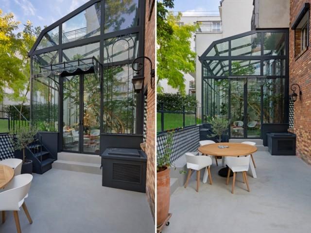 Une terrasse entièrement réaménagée