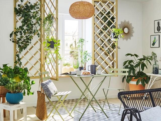 Aménager un jardin d'hiver devant sa fenêtre