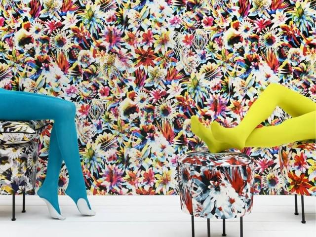 Découvrez la collection de papier peint signée Jean Paul Gaultier