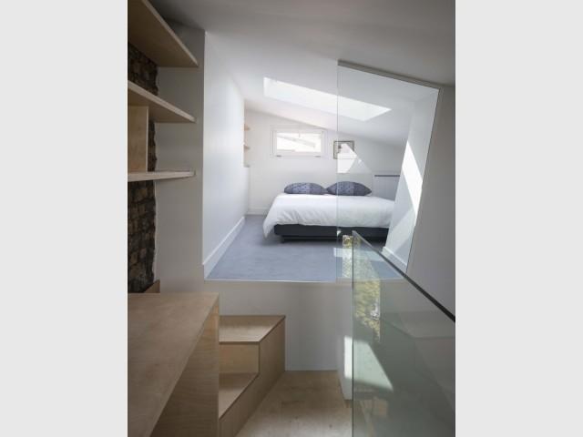 Une chambre en plus sous les combles